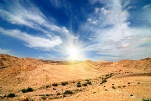 Удивительные пейзажи пустыни в Израиле