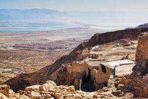 Руины крепости - Масада