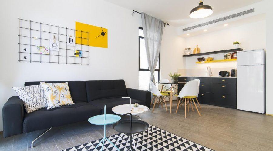 двухкомнатная квартира в Тель-Авиве