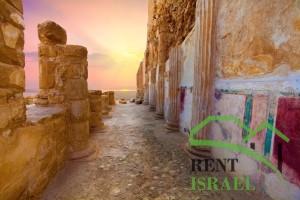 Посещение крепости Массада