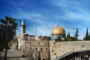 Al Aqsa and Western Wall, Jerusalem, Israel