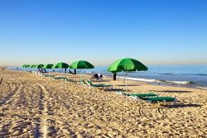 Зимой в Израиле мало кого встретишь на пляже