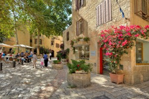 В августе приятно прогуляться по старинным улочкам Иерусалима