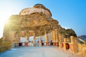 Руины дворца царя Ирода